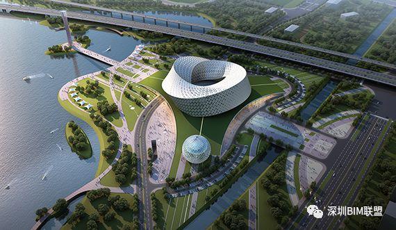 河南省科技馆工程中BIM技术的应用_1