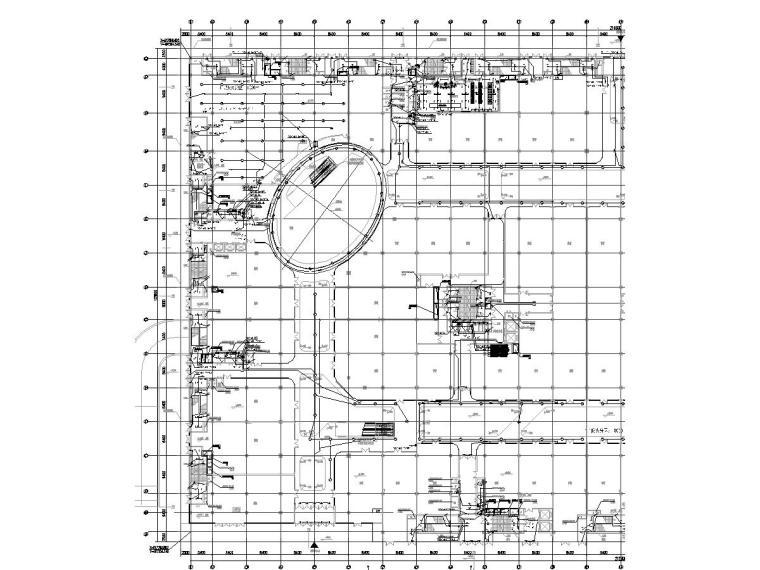 广东商业综合体强弱电施工图(含地下)