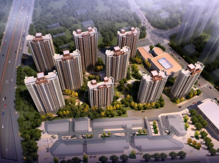合肥拆迁复建高层住宅及配套规划设计文本