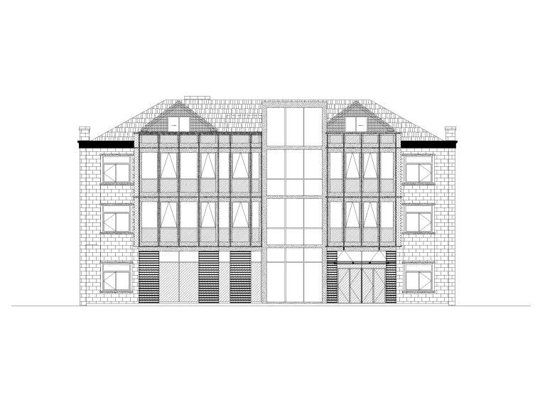 [浙江]社区中心养老院项目建筑施工图