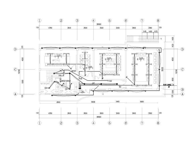 [上海]厂房办公室改造项目电气施工图