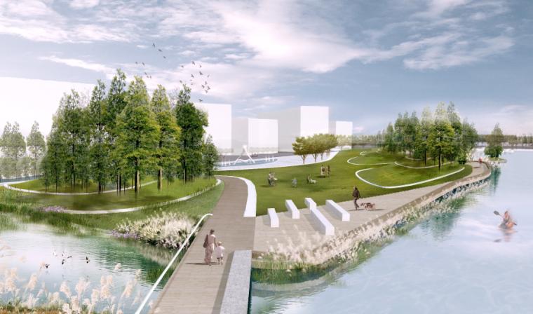 湿地公园效果图PSD (3)
