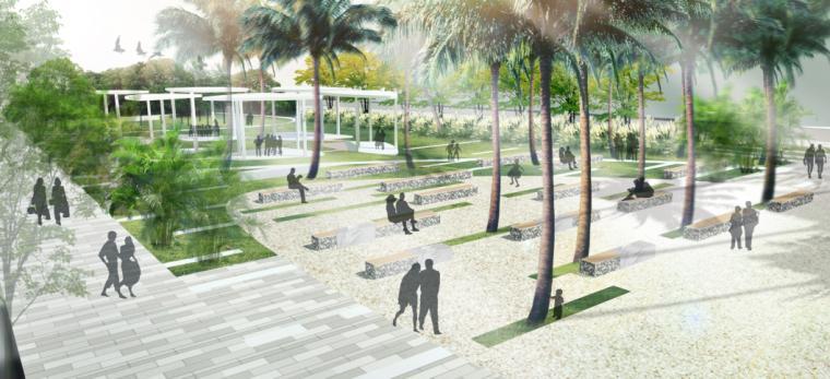 湿地公园效果图PSD (4)