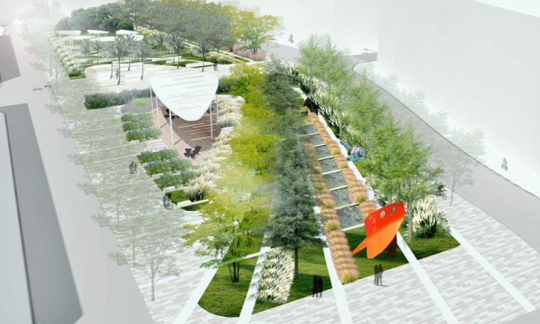 湿地公园效果图PSD (5)