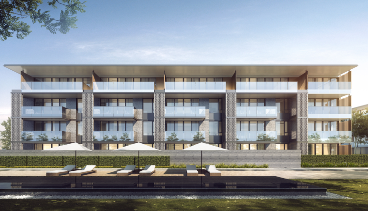 [江苏]南京现代风格住宅+别墅建筑方案