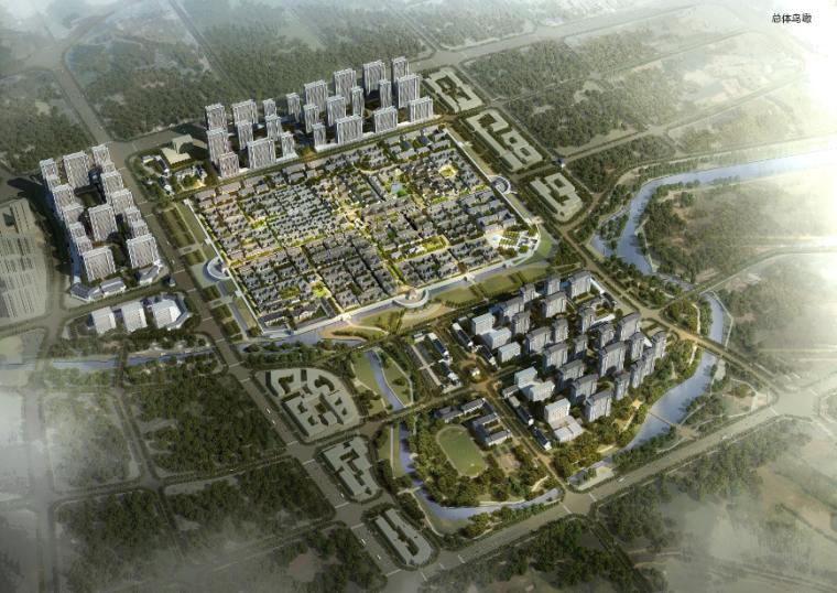 [山东]即墨市古城核心片区修复景观设计方案