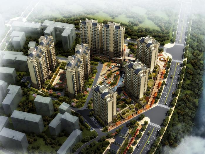 [湖北]住宅项目地块修建性详细规划(图文)