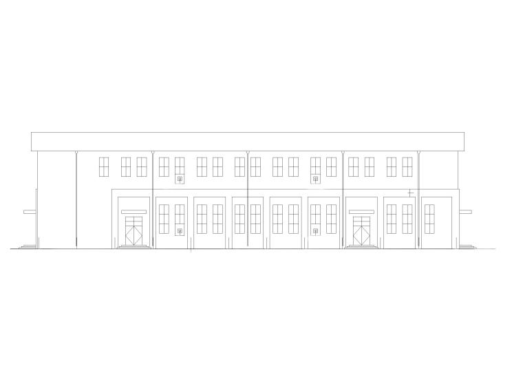 小学报告厅、风雨操场建筑施工图(CAD)