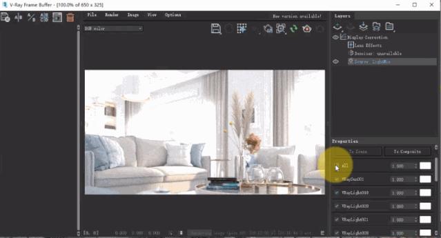 vray如何渲染出阴天效果资料下载-Vray5.0渲染器新功能强势更新