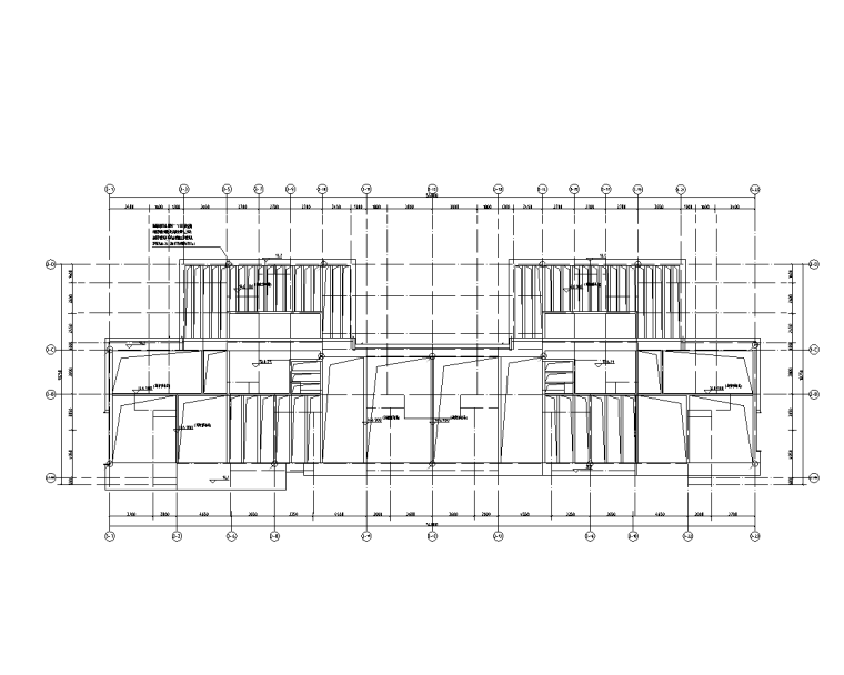 屋架层平面图