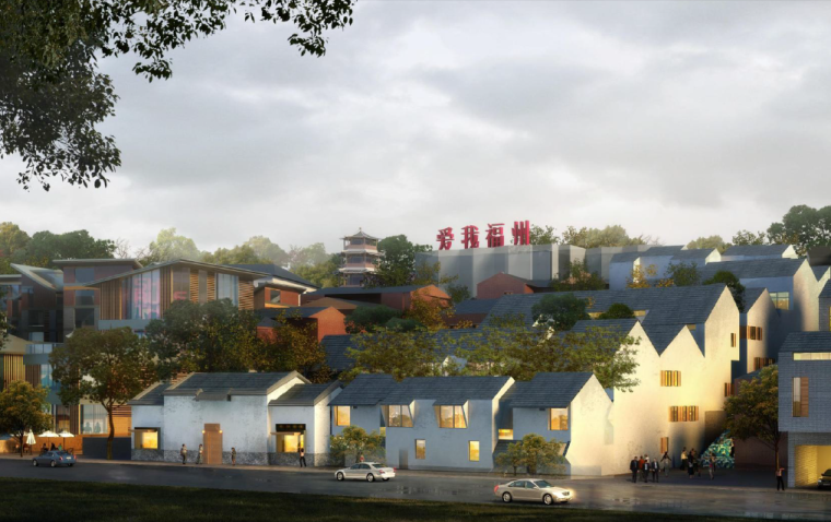 [福建]福州历史文化风貌区规划设计方案