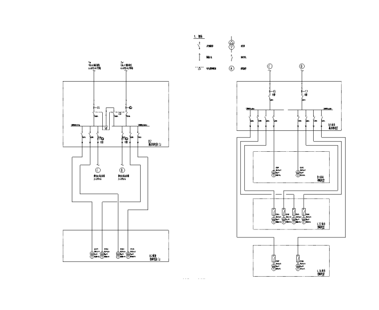 变电所10kV配电系统图6