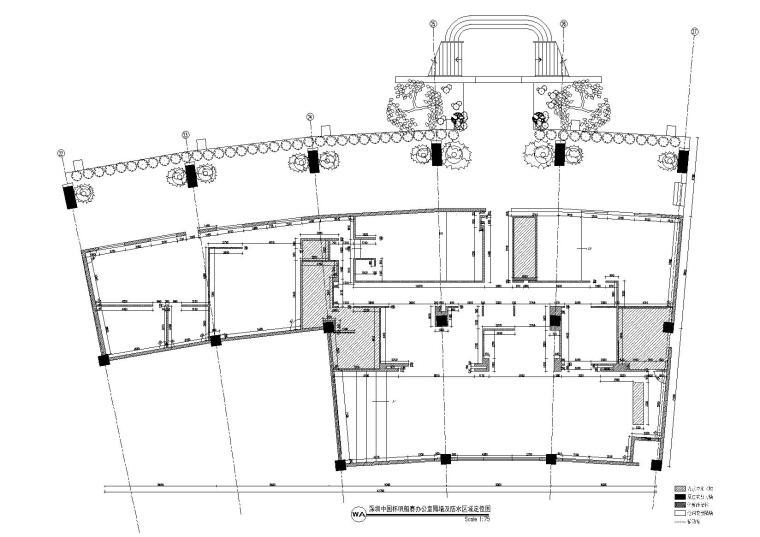 隔墙及区域防水图