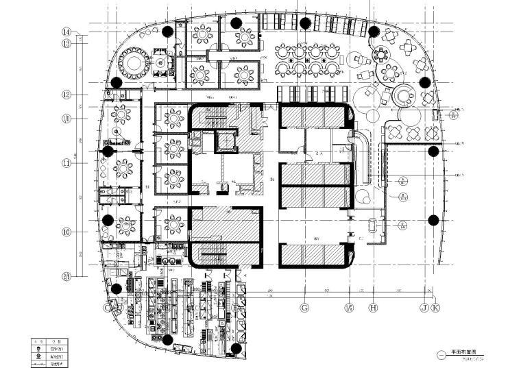 2020年5月大型餐饮空间设计施工图