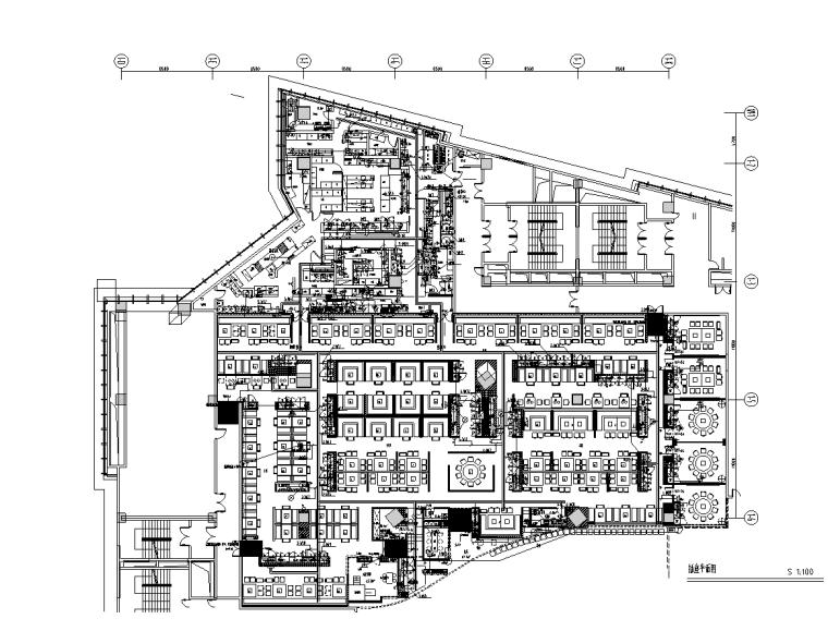 武汉商店机电设计图(餐厅、包间、厨房)