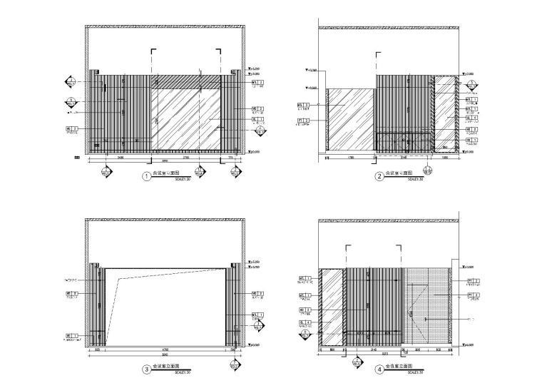 会议室立面图3