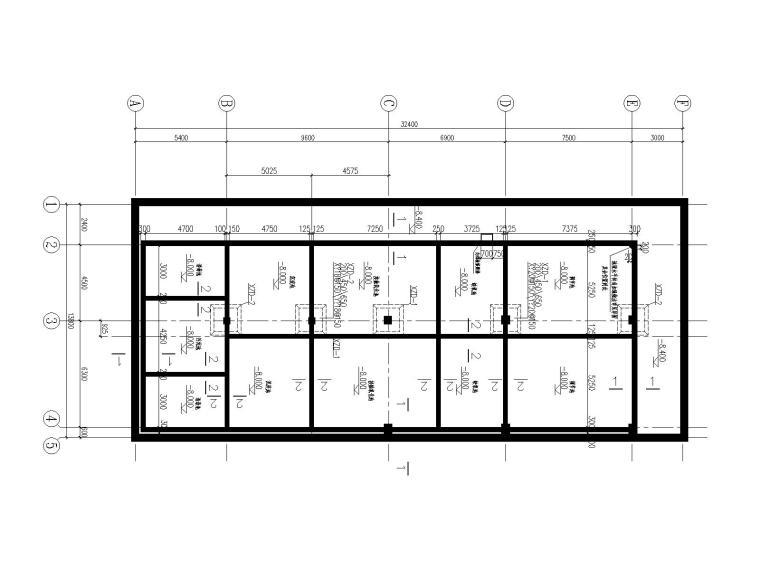 [北京]单层框架结构污水处理站结构施工图