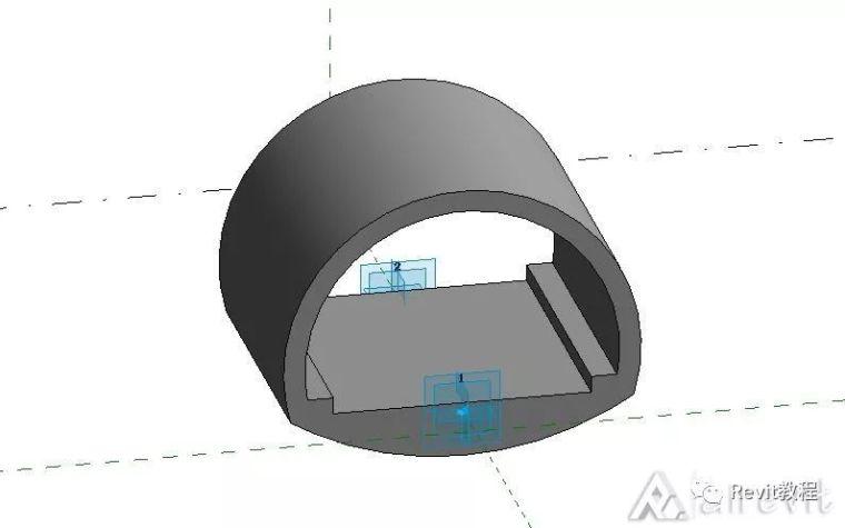 Revit通过dynamo绘制简易隧道_2