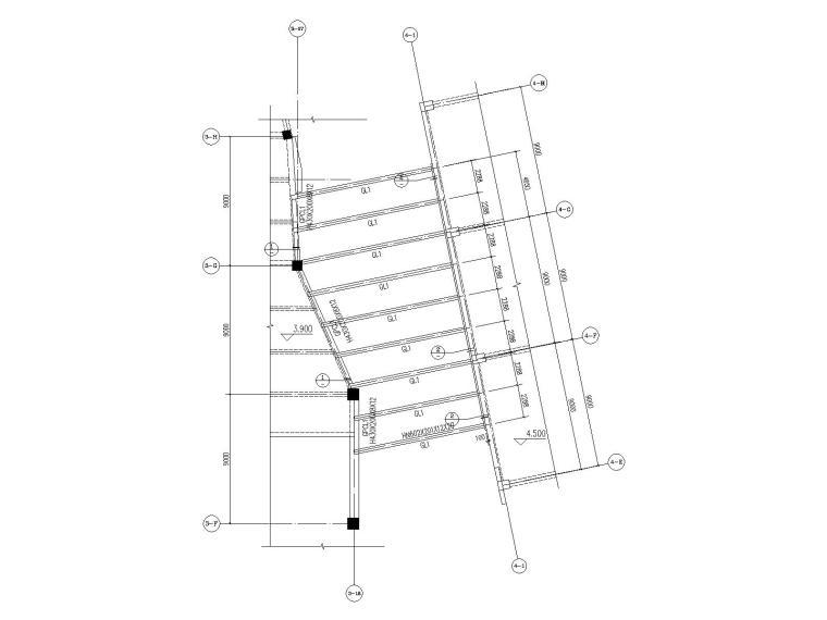 连廊结构图一