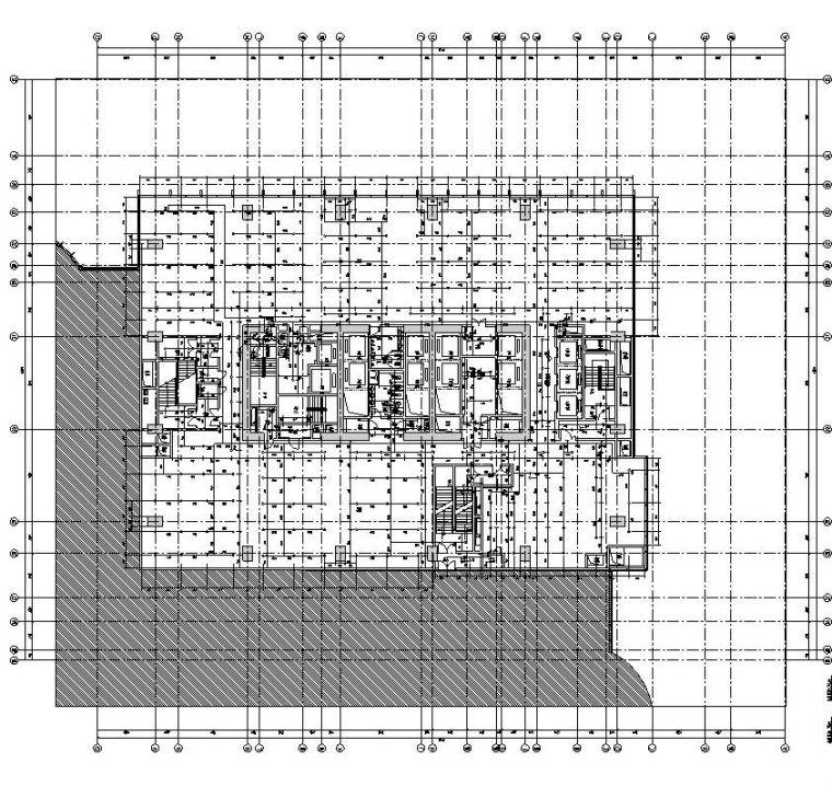 安徽施工图设计资料下载-[安徽]现代风办公写字楼施工图设计给排水