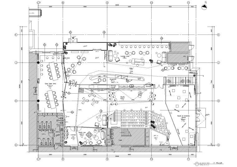 [海南]数据谷办公空间全套项目资料_效果图