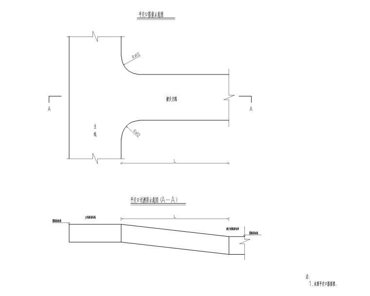 平面交叉设计图-Model
