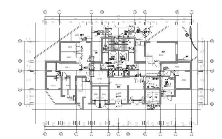 4#地下二层平面图