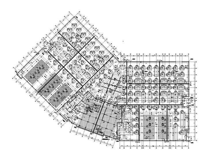 高层框架_框剪结构学校详备结构竣工图2019