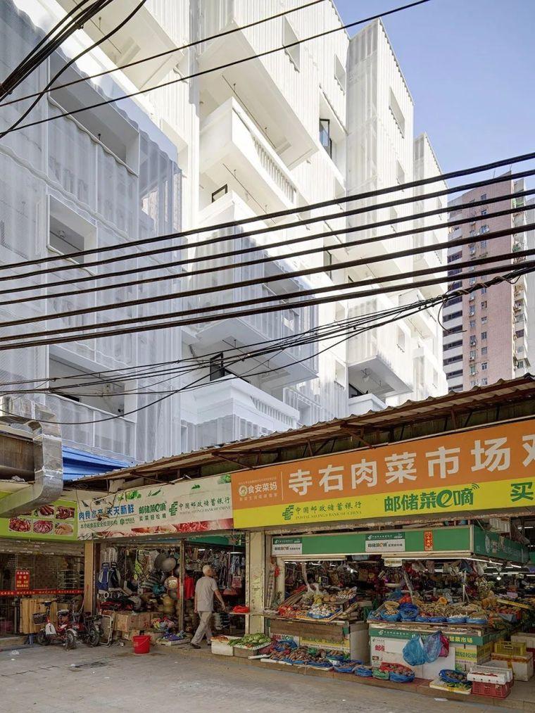 建筑|老旧居民楼改造成时尚公寓_9