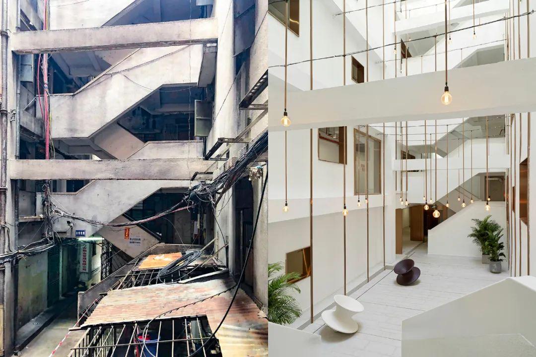 建筑|老旧居民楼改造成时尚公寓_17