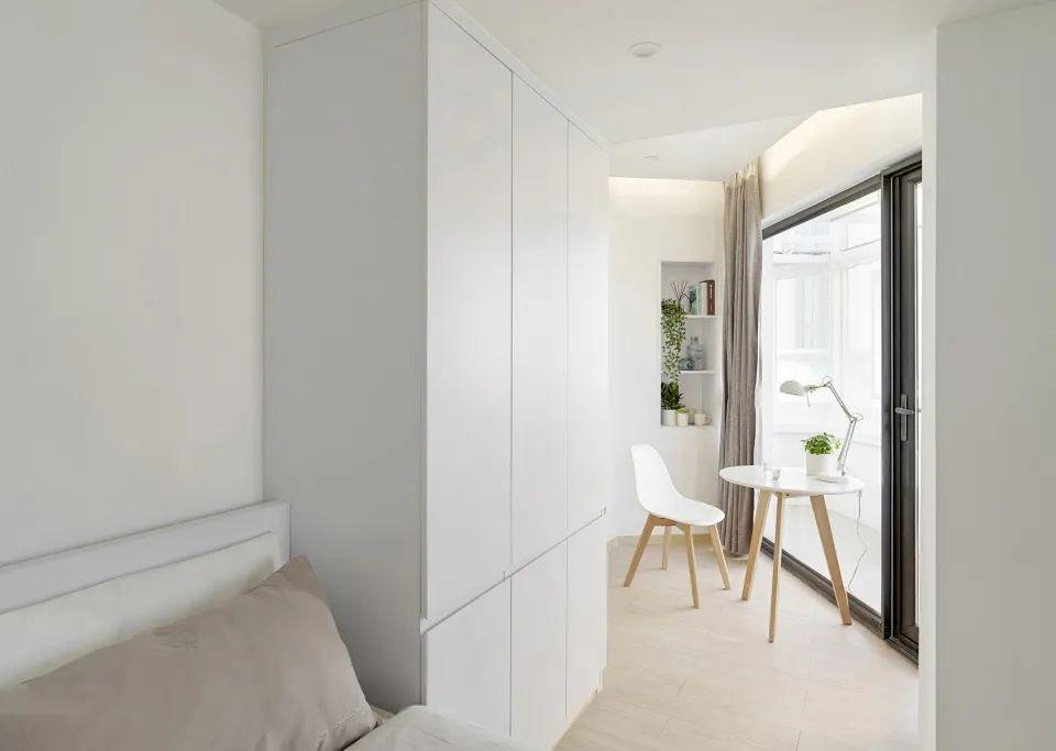 建筑|老旧居民楼改造成时尚公寓_25