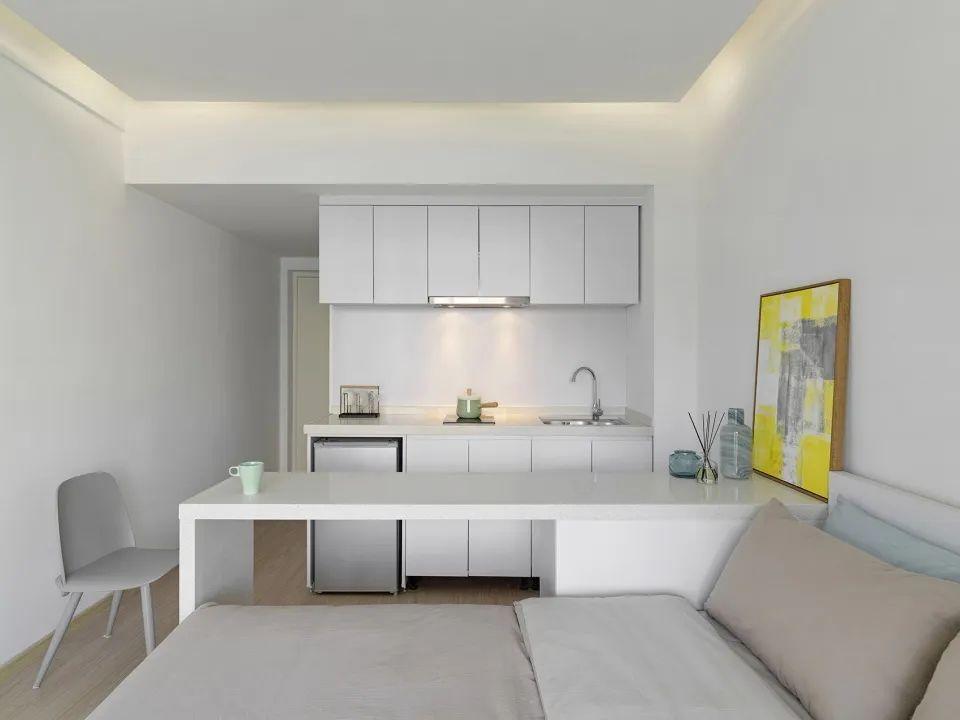 建筑|老旧居民楼改造成时尚公寓_26