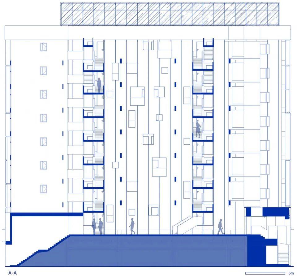 建筑|老旧居民楼改造成时尚公寓_33