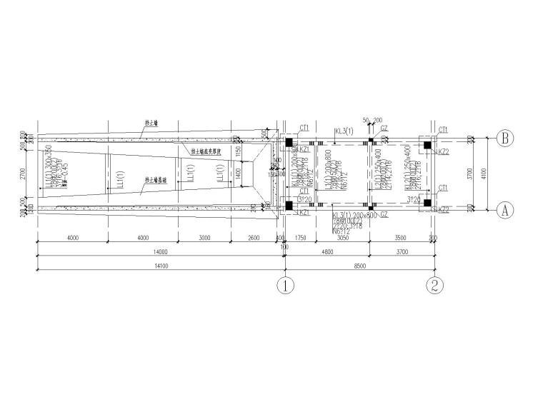 [广东]单层框架结构门卫室结构施工图2018