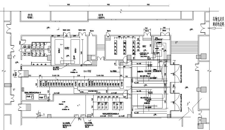 上海商业办公楼变电所35kv电气施工图