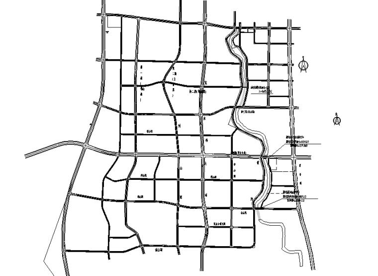 [重庆]沿河城市支路项目施工设计图