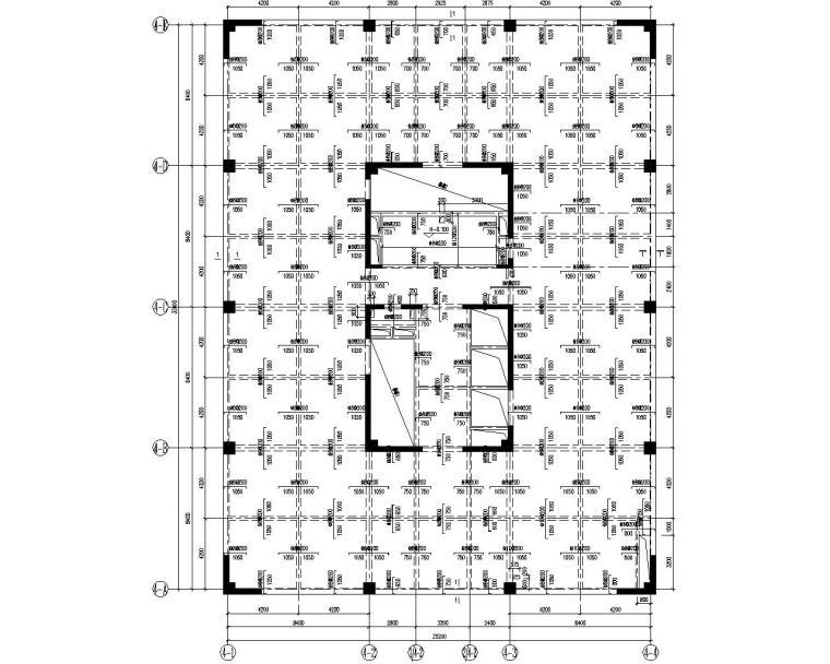 某12层商业混凝土核心筒结构施工图(CAD)