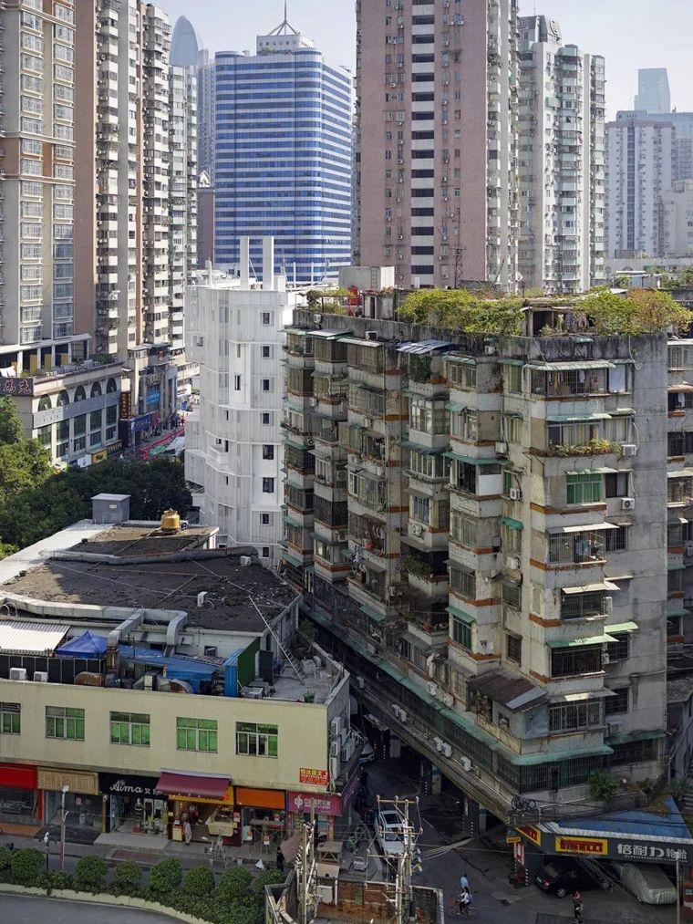 建筑|老旧居民楼改造成时尚公寓_8