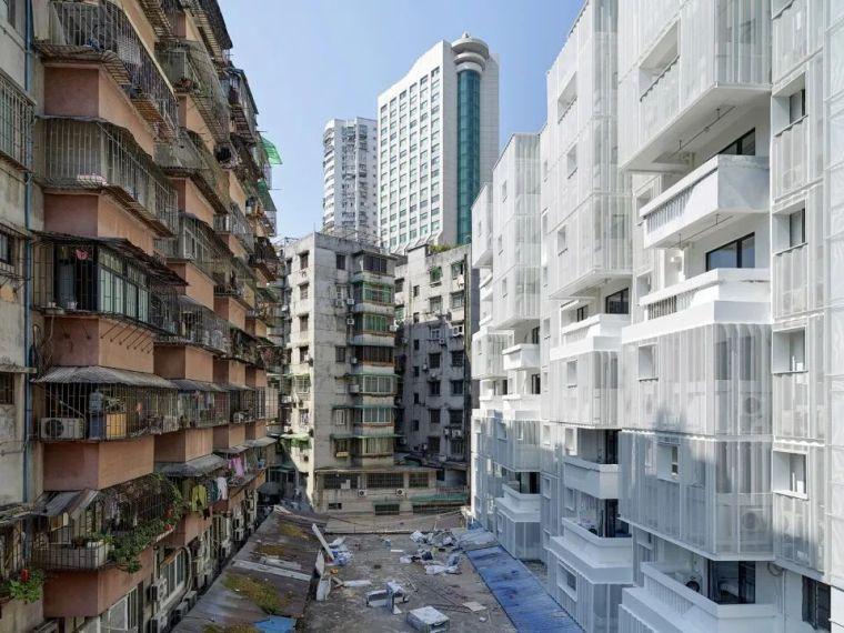 建筑|老旧居民楼改造成时尚公寓_3