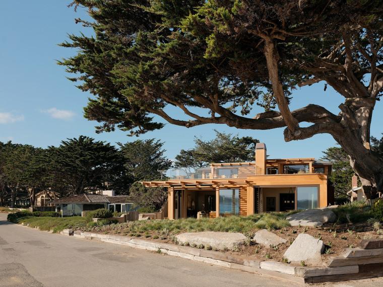 美国海岸的四栋特色住宅