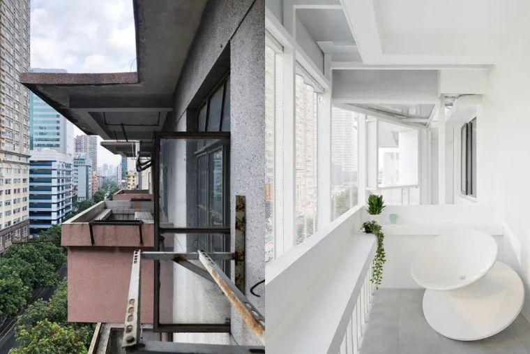 建筑|老旧居民楼改造成时尚公寓_12