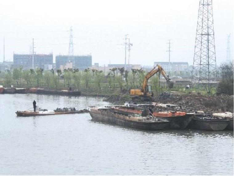 河道疏浚整治与配套建筑物施工方案