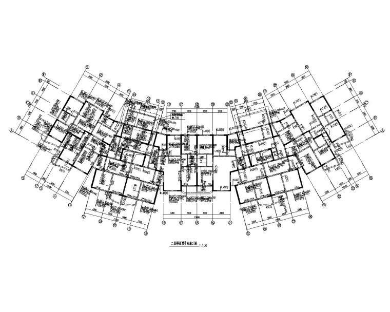 结构配筋图