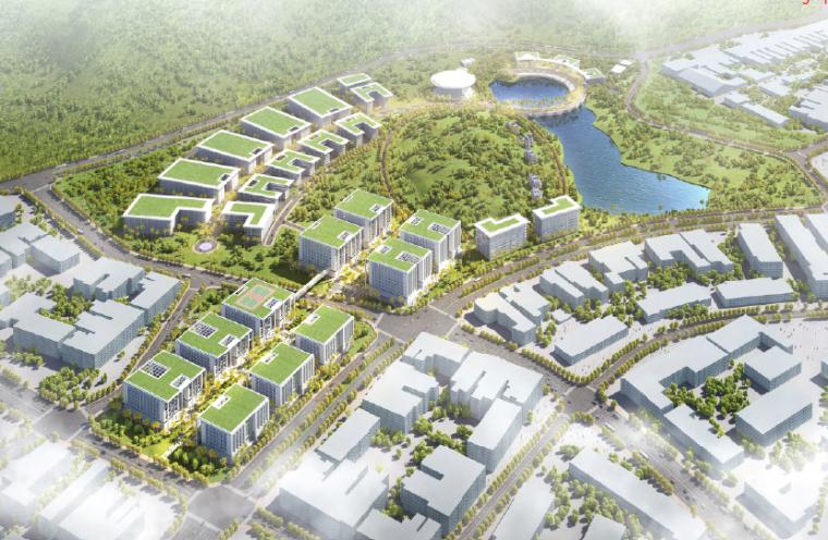 [广东]广州软件产业基地办公园区景观方案