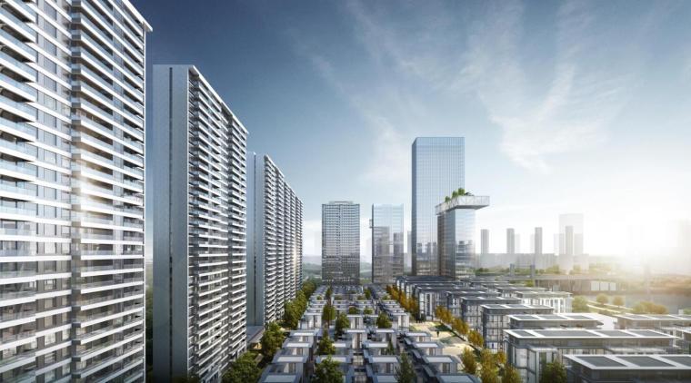 [四川]现代高层豪宅+别墅建筑方案设计