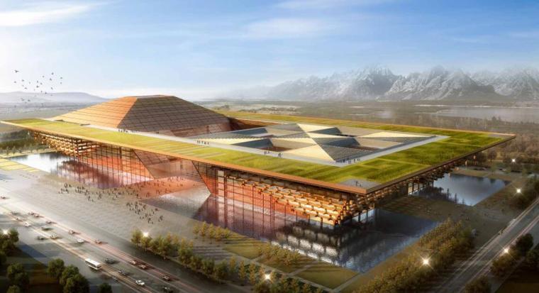 [西藏]现代风格文化建筑方案设计