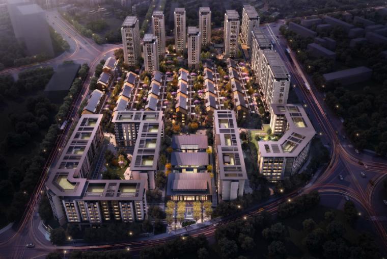 [北京]北方院落式居住区景观设计方案