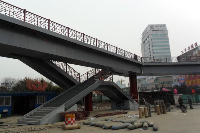 人行天桥施工设计及施工过程总结