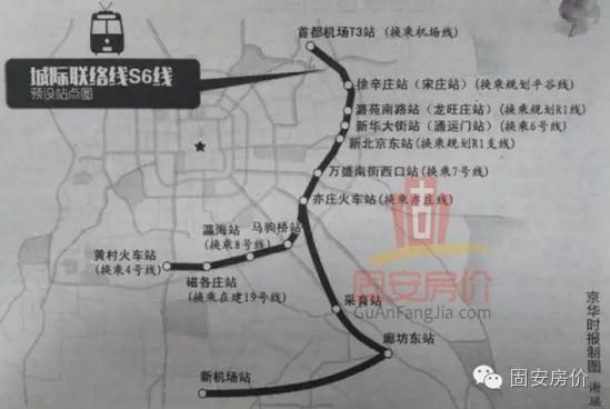 总投资6500亿!京津冀城际铁路网规划大全_9