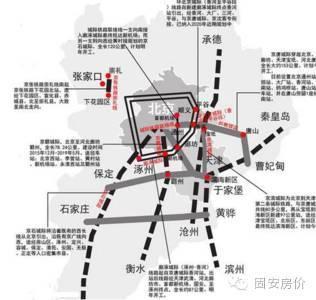 总投资6500亿!京津冀城际铁路网规划大全_11